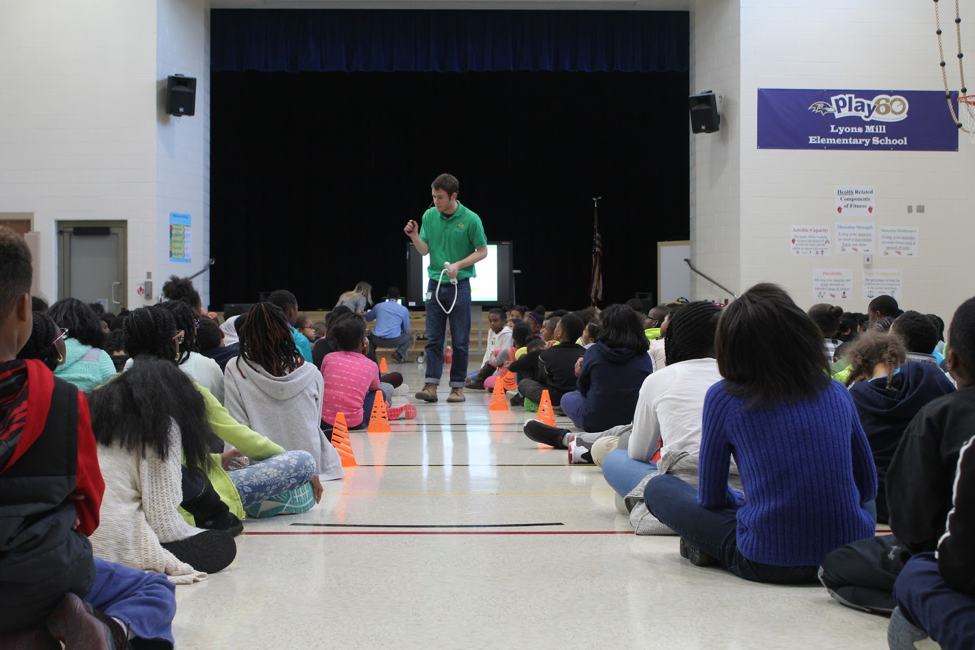greeNEWit provides school assemblies to teach STEM and the environment