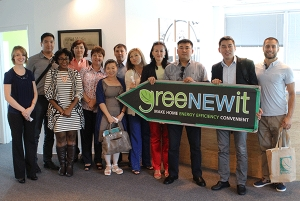greeNEWit Goes International with Kazakhstan Energy Efficiency Delegation